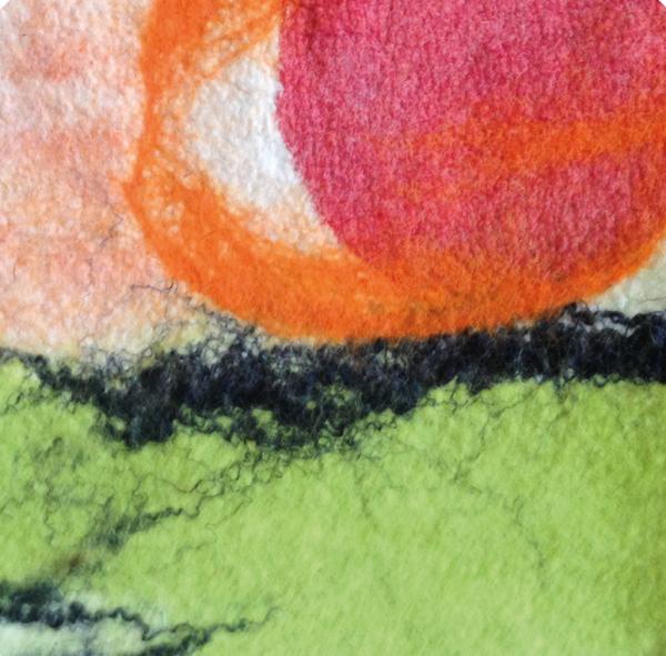 laine feutrée AuréliaW atelier 04 escapades artisanales