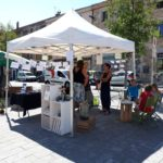 Marché Local Pélussin Aportee2mains 2019 stand