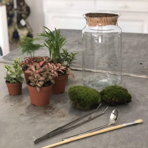 outils de creation terrarium