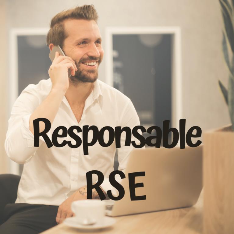 Responsable RSE Responsabilité Sociale et environnementale en entreprise